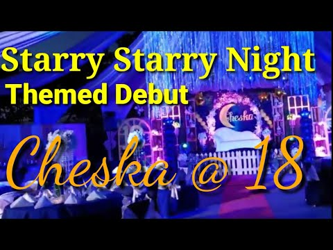 How To Create A  Starry Night Themed Debut By Kuya H The Events Stylist I Vlog 03