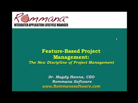Feature-Based Project Management: The New Discipline for Project and QA Managers