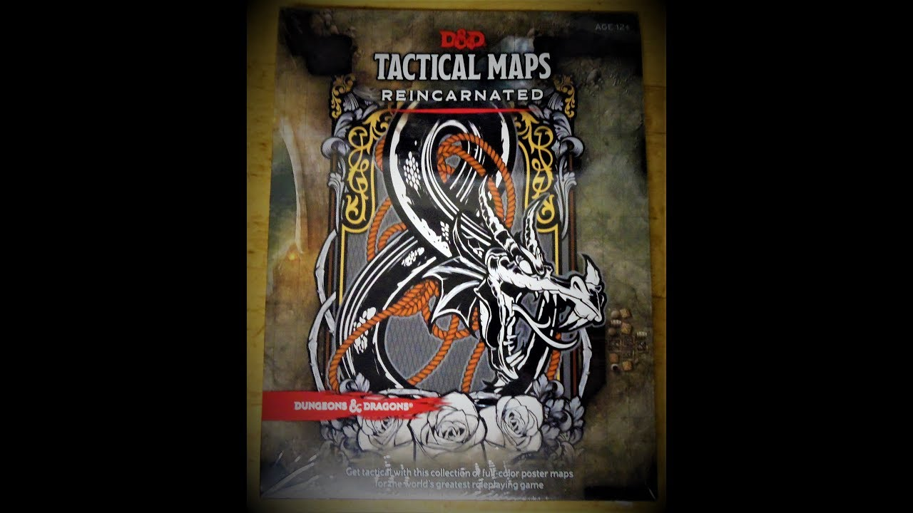 D D Tactical Maps Reincarnated Opening And Review