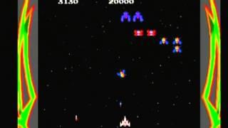 Namco Museum Galaga (Game Cube) Game Play