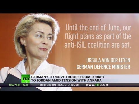 German jets to start leaving Incirlik base in Turkey for Jordan – defense minister
