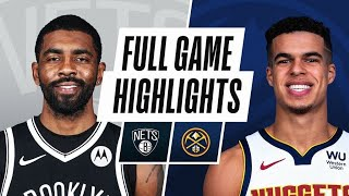 Game Recap: Nets 125, Nuggets 119