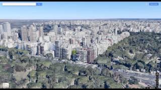 Google Maps Buenos Aires en 3D Nuevas Funciones Free HD Video