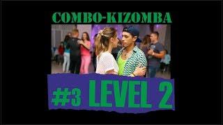 КИЗОМБА УРОК №3 (уровень 2) / KIZOMBA LESSON №3 (level 2) / обучение НОВОСИБИРСК