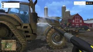 Farming Simulator 2015 Mycie Maszyn!