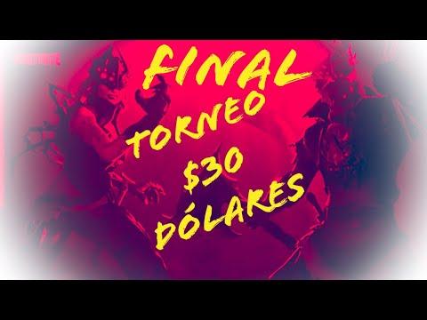 //**FINAL DEL TORNEO  DE 30 DÓLARES**/// PSN///FORTNITE TEMPORADA #6///