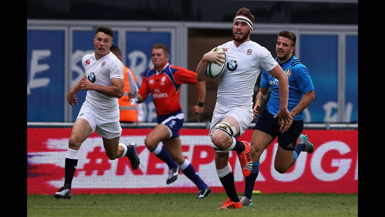 World Rugby U20 Highlights England Vs Italy Ultimate Rugby Players News Fixtures And Live Results