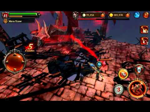 Eternity Warriors 2 Black Dragon Defeat