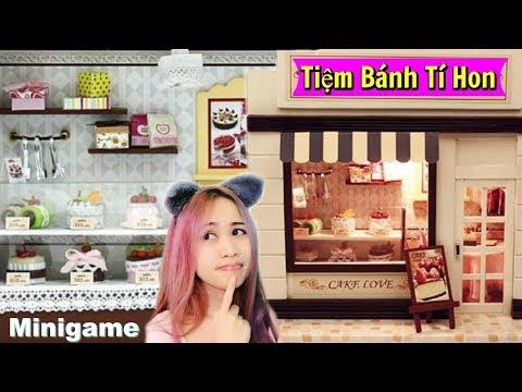Làm Tiệm Bánh Ngọt Siêu Cute - Minigame ngày 2 - Gearbest Doll House
