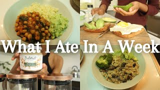 WHAT I ATE IΝ A WEEK (Plant Based) | South African Youtuber
