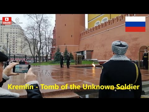 Changing Of The Guard, Kremlin, Moscow, Tomb Of The Unknown Soldier - 2019