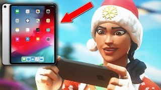 🔴iPad PRO 2018 Fortnite Gameplay! | new ipad who dis | Fortnite Mobile
