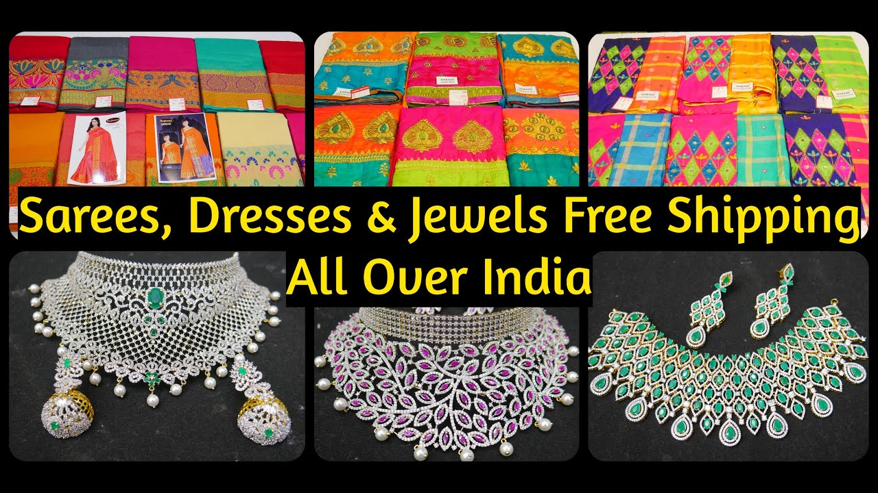 Sarees, Dresses&Jewelleries@Manufacturing Cost Free Shipping All Over India|ஒரு போன் செய்தால் போதும்