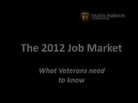 2012 Jobs Market - What Military Veterans need to know
