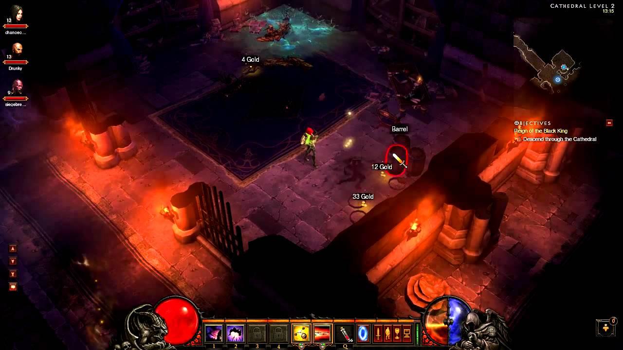 [Diablo 3 Walkthrough] Demon Hunter - Act 2 - Part 5 - The