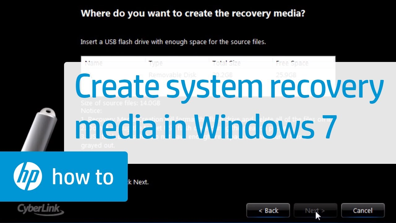 Hp pcs performing a system recovery (windows 10) | hp® customer.
