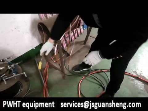 Transformer Type Heat Treatment Equipment For Pipeline