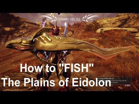 WarFrame - How to Fish: Plains of Eidolon