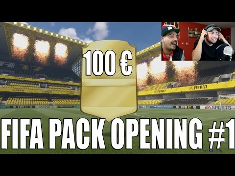 100 EURO FIFA 17 PACK OPENING #1