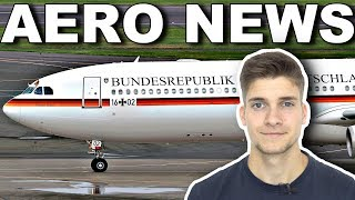 AUSFALL des REGIERUNGS-AIRBUS! AeroNews