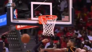 tristan thompson rejects bazemore s dunk