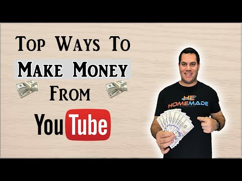 Top 5 Ways To Make Money On YouTube (Works For Small Channels)
