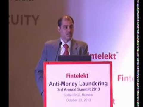 Anuj Gogia,  Directorate of Enforcement, Part One, Fintelekt Anti Money Laundering Summit 2013