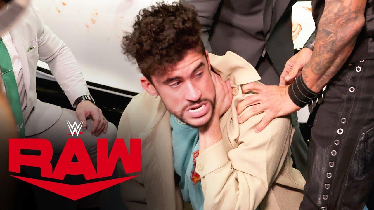 The Miz & John Morrison attack Bad Bunny after desecrating his $3 million car: Raw, Apr. 5, 2021
