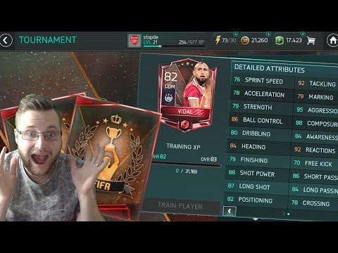 FIFA Mobile 18 Weekend Tournament! The Most Intense Legendary Matches to Claim Vidal! FIFA Football