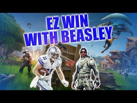 Absolute Zero EZ Win With Cole Beasley - Fortnite