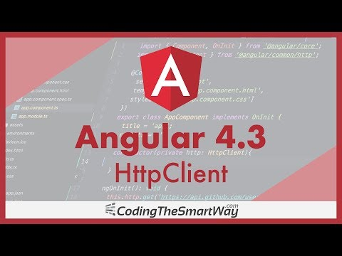 New Angular 4.3 HttpClient (Accessing REST Web Services With Angular)