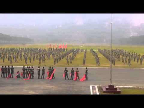 Tổng duyệt võ đặc công AARM 24th