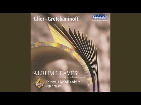 A. GRETHANINOFF: Sonata For Cello & Piano Op.113 II. Finale - Allegro