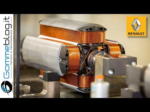 Electric Motor Engine FACTORY - HOW IT'S MADE A Renault Engine Assembly