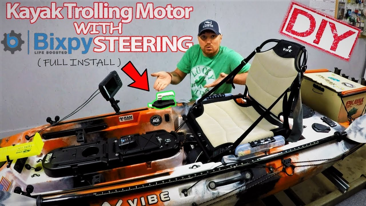 Homemade Kayak Motor w/ Bixpy Hand Control | Full Install | DIY