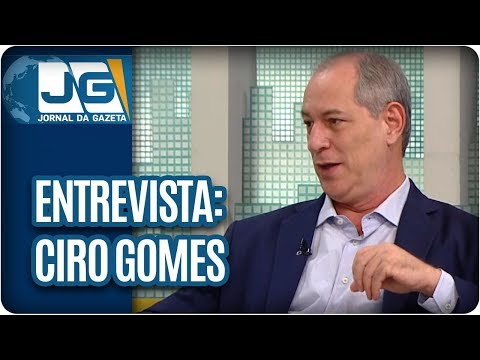 Maria Lydia entrevista Ciro Gomes (PDT), pré-candidato à Presidência, sobre as eleições de 2018