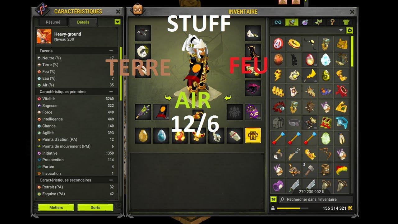 Image Result For Build Feu Eau Pvp Dofus