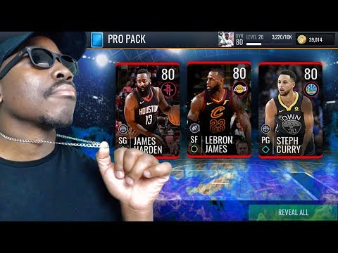 NBA LIVE MOBILE SEASON 3 PACK OPENING! Pulling Elites In Pro Packs Gameplay! Ep. 2