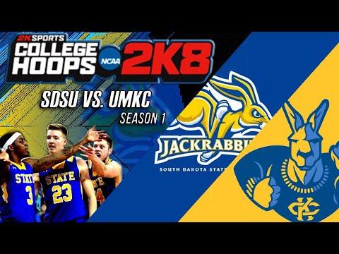 South Dakota St. vs. UMKC | S1 - EP. 17 | College Hoops 2k8 Legacy Mode