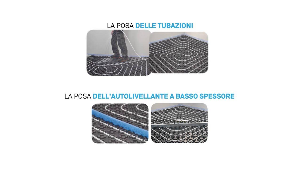 Riscaldamento A Pavimento Ribassato Spessore ultraslim-soluzione pavimento radiante 2cm