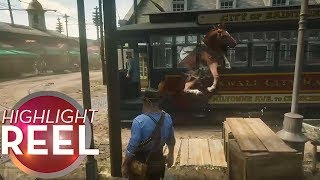 Highlight Reel #440 - Normal Day In Red Dead Redemption 2
