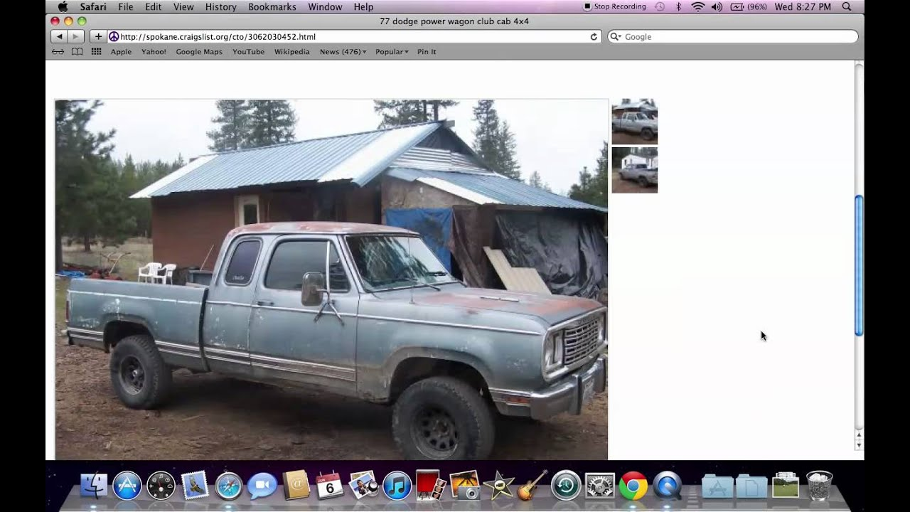 Craigslist spokane washington local private used cars for sale by owner under 500 youtube