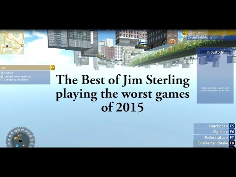 The Best of Jim Sterling playing the worst games of 2015