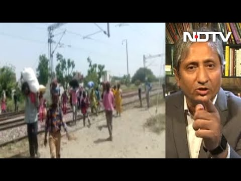 As NDTV Speaks To Migrants Walking On Rail Tracks, Cops Swing Into Action