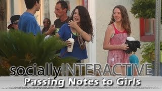 Socially Interactive - Passing Notes to Girls