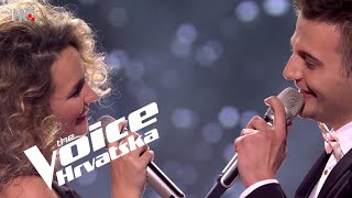 "Maria vs. Josip - ""How Deep Is Your Love""   Battles   The Voice Croatia   Season 3"