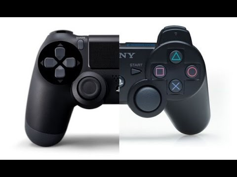Comparing Dualshock 3 to Dualshock 4 - YouTube