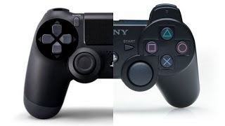 Comparing Dualshock 3 to Dualshock 4