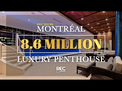 MONTREAL PENTHOUSE - 8.6 Million Dollar Ritz Carlton Residence