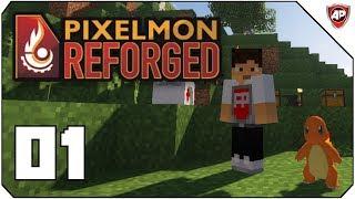 CHARMANDER ER MIN ENESTE VEN! - Pixelmon Reforged Episode 1